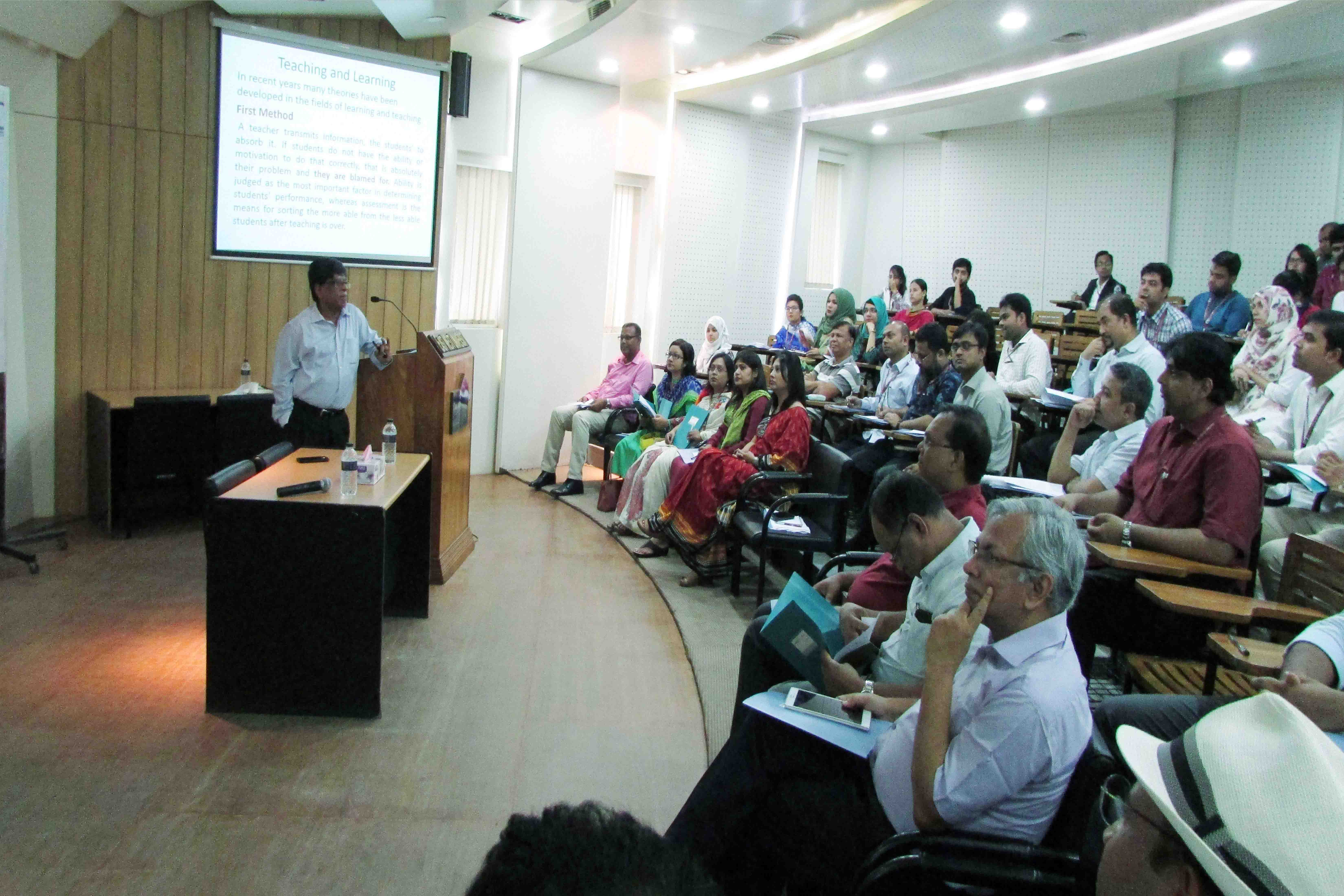 "Workshop and orientation program on ""Teaching Learning Methods and Practices"""