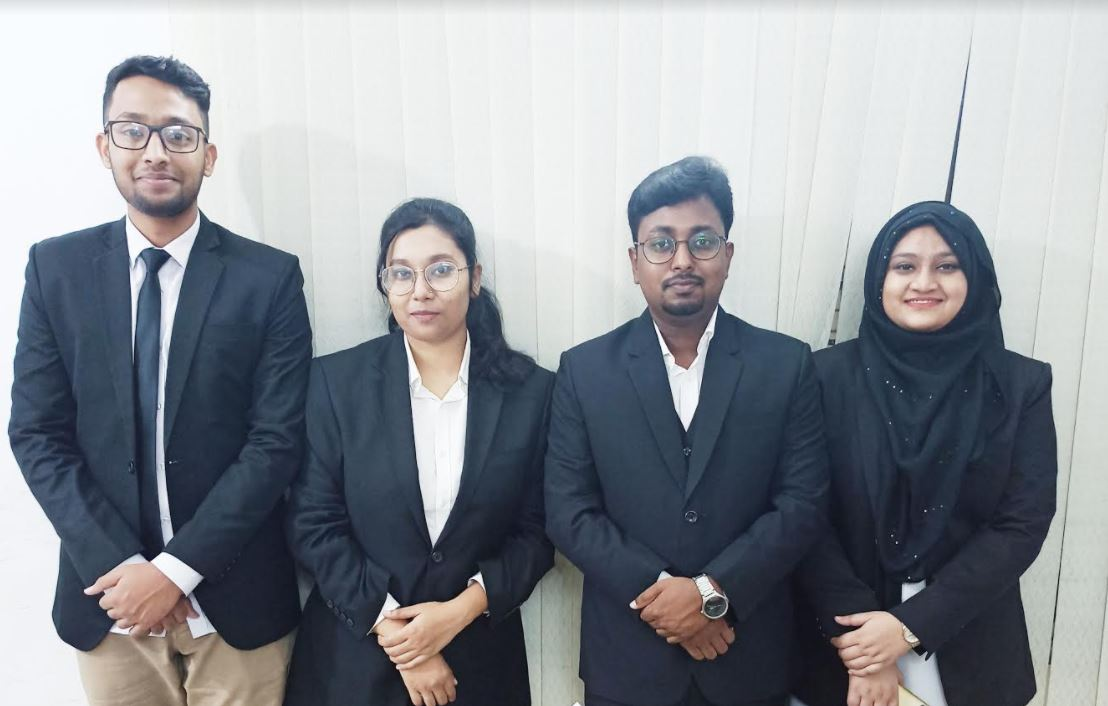 "East West University Moot Court Team has won the ""..."