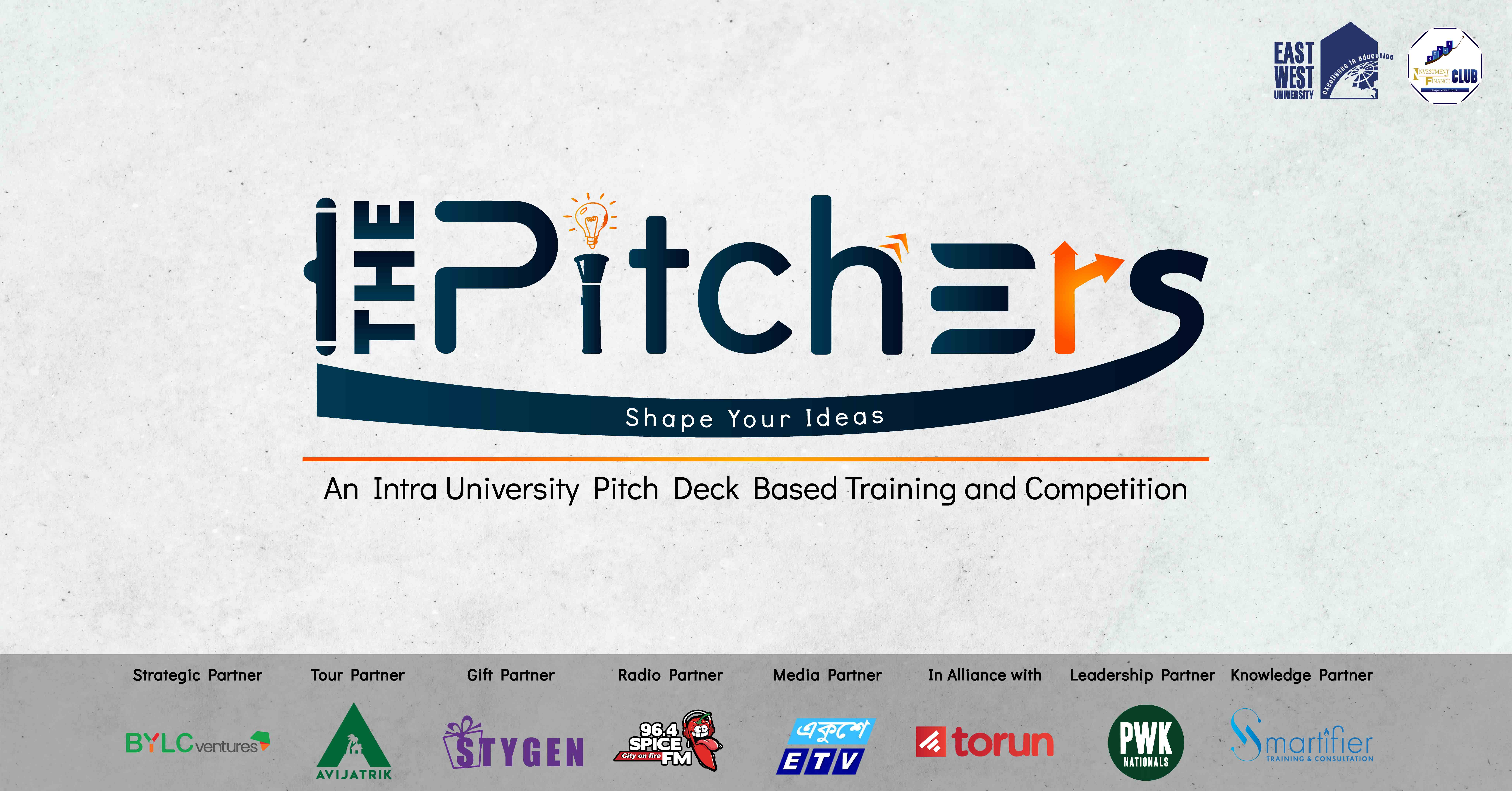 """THE PITCHERS- An Intra University Pitch Deck base..."