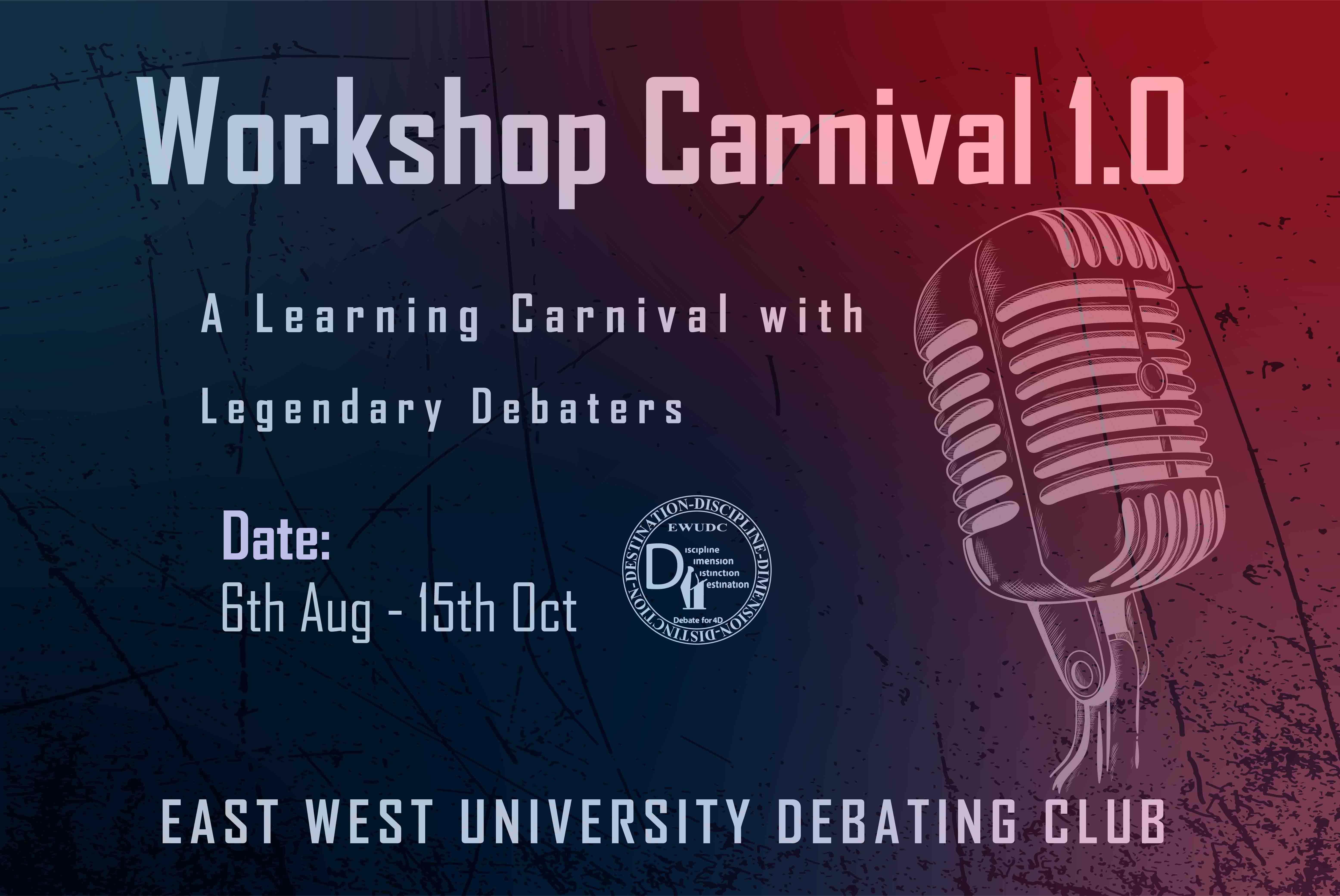 """Workshop Carnival 1.0,"" arranged by East West Uni..."